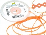 Elastic Chain - large - Crystal Orange - 1,5m